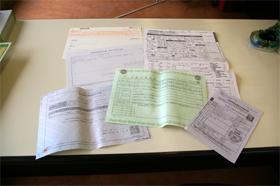 車検継続書類作成