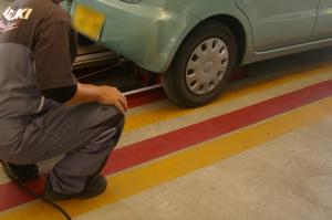 排気ガス検査